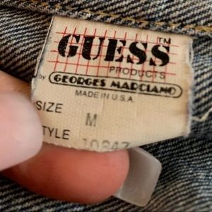 Guess by Marciano Jackets & Coats - GEORGES MARCIANO FOR GUESS VINTAGE DENIM JACKET